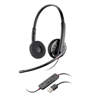 PLANTRONICS BLACKWIRE 320 BINAURAL HEADSET