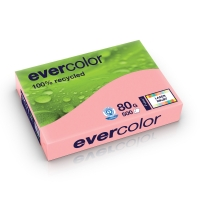 EVERCOLOUR RECYCLED PAPER A4 80G PINK - REAM OF 500 SHEETS