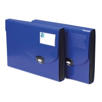 RAPESCO BLUE A4+ POLYPROPYLENE 13-PART EXPANDING FILE