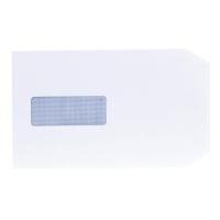 LYRECO ENVELOPES C5 90 G 100 PERCENT RECYCLED WINDOW WHITE - BOX OF 500