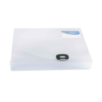 RAPESCO CLEAR A4 POLYPROPYLENE DOCBOX 40MM