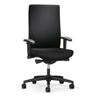 INTERSTUHL YOUNICO 4142 TOPLINE CHAIR BLACK - ARMS NOT INCLUDED