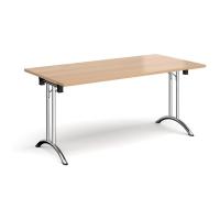RECTANGULAR FOLDING TABLE BEECH