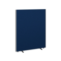 FREE STANDING ACOUSTIC OFFICE SCREEN 1600 X 1400MM ROYAL BLUE