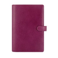 FILOFAX FINSBURY PERSONAL ORGANISER RASPBERRY - WEEK TO VIEW