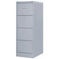 CONTRACT MIDI FILING CABINET 4 DRAWER GREY