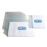 ELBA A3 LANDSCAPE PUNCHED POCKETS 120 MICRONS - PACK OF 25
