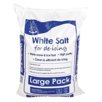 DE-ICING SALT 25KG BAG - PALLET OF 42 BAGS - FORKLIFT REQUIRED FOR DELIVERY