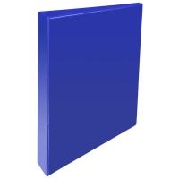 BLUE A4 2 D-RING PRESENTATION BINDER 25MM