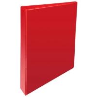 RED A4 2 D-RING PRESENTATION BINDER 25MM