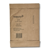 MAIL LITE PADDED BAGS C0 149 X 222MM - BOX OF 100