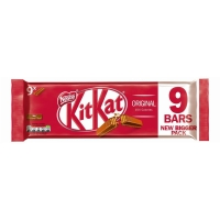 KITKAT 2 Finger Milk Chocolate Biscuit Bar 20.7g - pack of 8