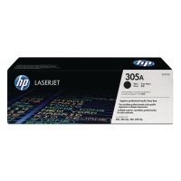 HP 305A Black Original LaserJet Toner Cartridge (CE410A)