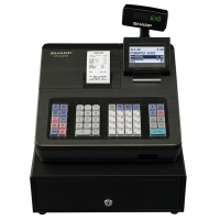 SHARP XEA207B CASH REGISTER BLACK