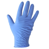 NITRILE POWDERFREE GLOVES BLUE SMALL (BOX OF 100)