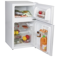 IGENIX WHITE UNDER COUNTER FRIDGE FREEZER