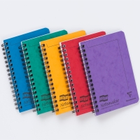 EUROPA NOTEMAKER NOTEBOOKS A6 ASSORTED COLOURS - PACK OF 10