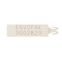 NUMBERED ENVOPOLYSEAL CLIP WHITE - PACK OF 1000