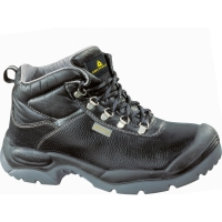 DELTAPLUS SAULT WIDE FIT SAFETY BOOT S3 SRC BLACK 44 SIZE 10