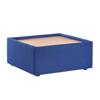 BLUE MODULAR RECEPTION TABLE 380MM X 620MM X 620MM