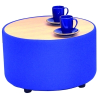 BLUE RECEPTION TUB TABLE