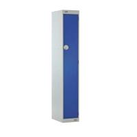LOCKER 1800H x 300W x 300D, 1 DOOR, BLUE