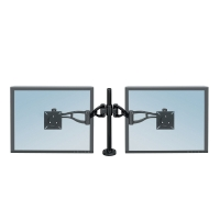 FELLOWES 8041701 DUAL/DEPTH ADJUSTABLE MONITOR