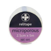 MICROPOROUS WATERPROOF TAPE 25MM X 5M