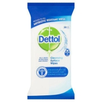 DETTOL SURFACE WIPES - PACK OF 36