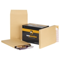 NEW GUARDIAN MANILLA 15 X 10IN PEEL AND SEAL GUSST ENVELOPES 135GSM - BOX OF 100