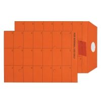 ORANGE C5 INTERTAC SEAL INTERNAL MAIL ENVELOPES 85GSM - BOX OF 500