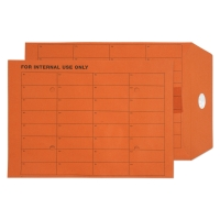 ORANGE C4 INTERTAC SEAL INTERNAL MAIL ENVELOPES 85GSM - BOX OF 250