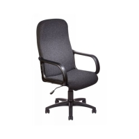 DELUXE HIGH BACK MANAGER S CHAIR WITH ARM RESTS - CHARCOAL