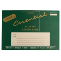 COLLINS A5 ACCIDENT BOOK