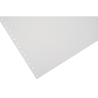 LYRECO 280 X 241MM 1-PART PLAIN MICROPERF LISTING PAPER 80GSM - 2000 SHEETS