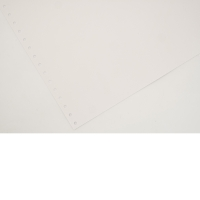 LYRECO 280 X 370MM 1-PART PLAIN NON PERF LISTING PAPER 60GSM - 2000 SHEETS