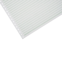 LYRECO 280 X 370MM 1-PART RULED NON PERF LISTING PAPER 60GSM - 2000 SHEETS