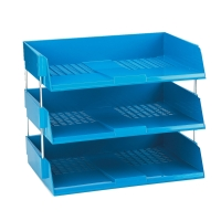 AVERY BLUE SIDE LOADING SYSTEM LETTER TRAY - 63 X 367 X 254MM