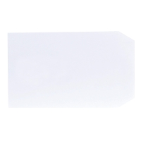 LYRECO WHITE C5 SELF SEAL PLAIN ENVELOPES 90GSM - BOX OF 500