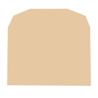 LYRECO MANILLA C6 GUMMED PLAIN ENVELOPES 70GSM - BOX OF 1000