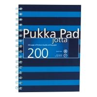 PUKKA JOTTA PAD  80G A5 200P NAVY BLUE