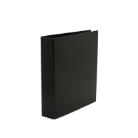 LYRECO BLACK A4 4D-RING BINDER 50MM CAPACITY