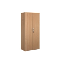 WOODEN BEECH STATIONERY CUPBOARD 1800MM X 938MM X 500MM