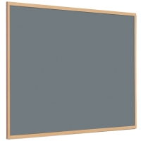 OAK FRAME GREY FELT BOARD 1200MM X 900MM