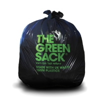 THE GREEN SACK HEAVY DUTY PLUS REFUSE SACK 737 X 965MM BLACK - BOX OF 200