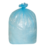 THE GREEN SACK MEDIUM DUTY REFUSE SACK 767MM X 965MM BLUE - BOX OF 200