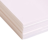 FOAM-BACKED CARDBOARD A2 WHITE - 5MM THICK - PACK OF 10