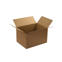 DOUBLE WALL CARD BOARD BOX 457x457x457MM - PACK OF 10