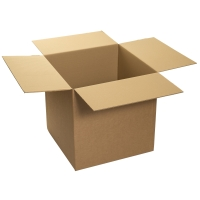 DOUBLE WALL CARD BOARD BOX 610x610x610MM - PACK OF 10