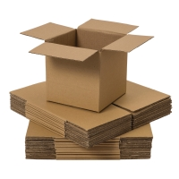 DOUBLE WALL CARD BOARD BOX 406x406x406MM - PACK OF 10